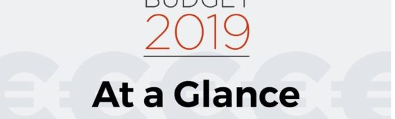 Budget 2019 at a glance